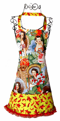 Hot Calendar Girls Apron