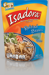 ISADORA Refried Beans Pouch (Pack of 2)