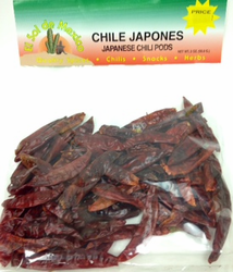 Japanese Red Dried Chile Pepper by El Sol de Mexico