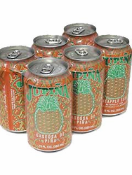 Jupiña Pineapple Soda - 6 pack
