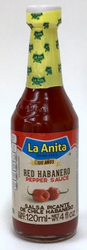 La Anita Red Habanero Hot Sauce