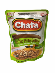 La Chata Refried Pinto Beans in Pouch (Pack of 3)