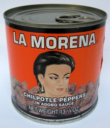 La Morena Chipotle Peppers in Adobo Sauce