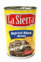 La Sierra Refried Black Beans (Pack of 3)