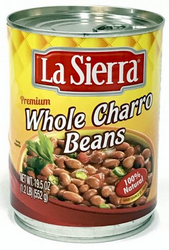 La Sierra Whole Charro Beans 19.5 oz (Pack of 3)