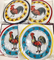 La Tortilla Oven Warmer -  Rooster - Gallito Assorted Colors - 1 Unit - image -1