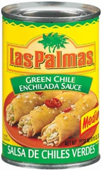 Las Palmas Green Chile Enchilada Sauce - Medium  (Pack of 3)