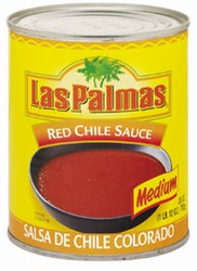 Las Palmas Red Chile Sauce - Salsa de Chile Colorado Medium