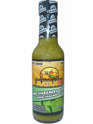 Mayanik Green Habanero - Hot Sauce