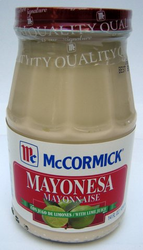 McCormick Mayonnaise with Lime - Mayonesa con Limones