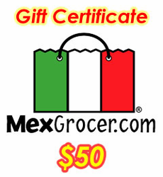 MexGrocer.com $50 Gift Certificate