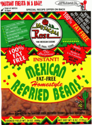 Mexicali Rose Low Fat Free Refried Pinto Beans - Instant (Pack of 3)