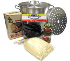 Mexican Tamales Making Kit