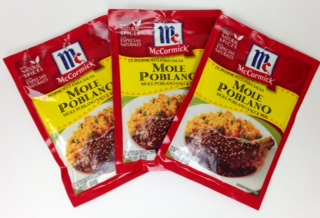 Mole Poblano Sauce Mix by McCormick (Pack of 3)