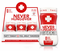 Never Hungover Dietary Supplement Small Bottle (Pack of 12) - image 1