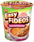 Nissin Cup Noodles Easy Fideos Picante Lime Shrimp Flavor (Pack of 6) - image -1
