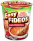 Nissin Cup Noodles Easy Fideos Tomato Chicken Flavor (Pack of 6) - image -1
