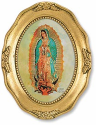 Our Lady of Guadalupe Oval Picture