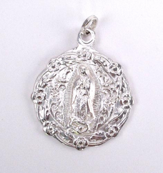 Our Lady of Guadalupe Medal - Full Body - Religious Medal