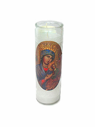 Our Lady of Perpetual Help Candle (Pack of 6)