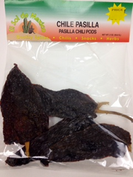 Pasilla Dried Chile Pepper by El Sol de Mexico