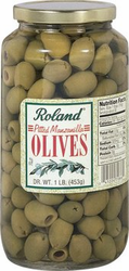 Pitted Manzanilla Olives by Roland