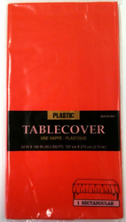 Plastic Table Cover Orange Peel