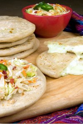 Pupusas Cheese & Bell Pepper Vegetarian by Del Real (10 Count)
