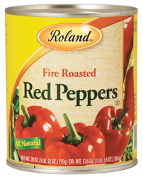 Roland Fire Roasted Red Peppers