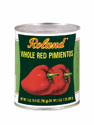 Roland Red Sweet Peeled Pimientos