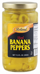 Roland Sliced Banana Peppers