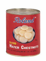 Roland Sliced Water Chestnuts