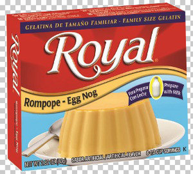 Royal: Fresca-Egg Nog Gelatin with milk - Rompope (Pack of 3)