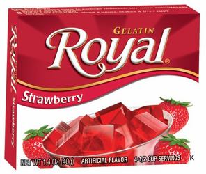 Royal: Fresca-Strawberry Gelatin (Pack of 3)