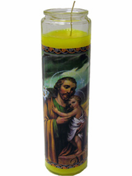 Saint Joseph Candle (Pack of 6)