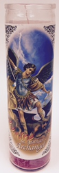 Saint Michael Archangel Candle (Pack of 6)