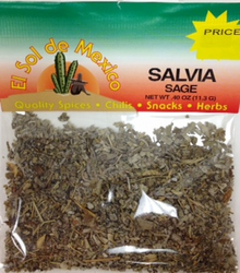 Salvia - Sage Herb by El Sol de Mexico