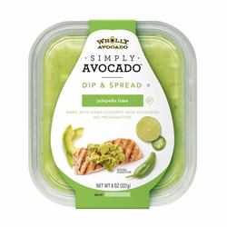 Simply Avocado with Jalapeno Lime by Wholly Avocado (8 oz)