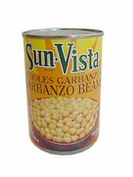 Sun Vista Garbanzo Beans (Pack of 3)