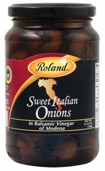 Sweet Italian Onions in Balsamic Vinegar