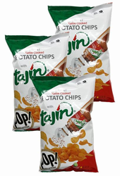 Tajin Kettle Potato Chips with Lime (Pack of 3)
