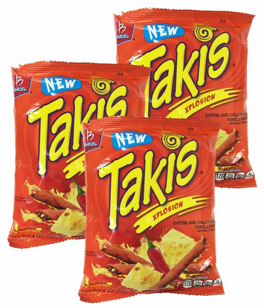 Takis Mini Rolled Corn Tortilla Chips By Barcel