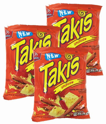 Takis Xplosion Cheese and Chili Pepper by Barcel (Pack of 6)
