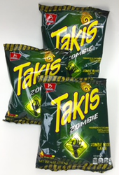 Takis Zombie Habanero & Cucumber Tortilla Chips (Pack of 3)