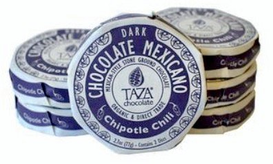 Taza Chocolate Mexicano Dark Chipotle Chili