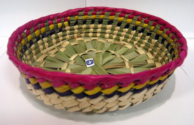 Tortillero de Palma chico / Small PalmTortilla Warmer Basket
