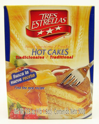 Tres Estrellas Traditional Hot Cakes