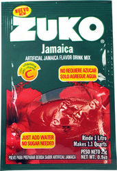 Zuko Hibiscus Flavor Drink Mix (1 Liter / 0.9 oz) (Pack of 3)