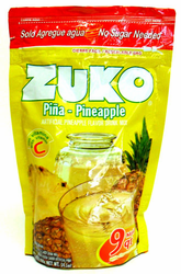 Zuko Pineapple Flavor Drink Mix (Makes 9 qt - 8.6 Liters)