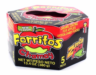Zumba Pica Forritos Chamoy (5 pieces)